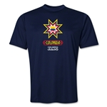Colombia Copa America 2015 Banderas Training T-Shirt (Navy)