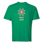 Mexico Copa America 2015 Banderas Training T-Shirt (Green)