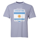 Argentina Copa America 2015 Shield Training T-Shirt (Grey)