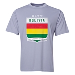 Bolivia Copa America 2015 Shield Training T-Shirt (Grey)
