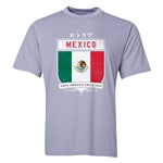 Mexico Copa America 2015 Shield Training T-Shirt (Grey)