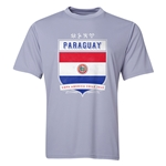 Paraguay Copa America 2015 Shield Training T-Shirt (Grey)