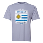 Uruguay Copa America 2015 Shield Training T-Shirt (Grey)