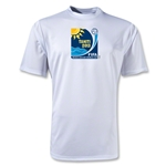 FIFA Beach World Cup 2013 Performance Emblem T-Shirt (White)