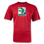 FIFA Confederations Cup 2013 Moisture Wicking Emblem T-Shirt (Red)