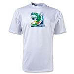 FIFA Confederations Cup 2013 Moisture Wicking Emblem T-Shirt (White)