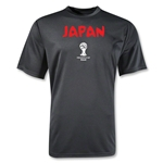 2014 FIFA World Cup Brazil(TM) Japan Core Training T-Shirt (Black)