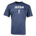 2014 FIFA World Cup Brazil(TM) Japan Core Training T-Shirt (Navy)