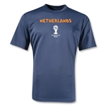 Netherlands 2014 FIFA World Cup Brazil(TM) Men's Core Training T-Shirt (Navy)