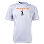 Netherlands 2014 FIFA World Cup Brazil(TM) Men's Core Training T-Shirt (White)