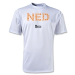 Netherlands 2014 FIFA World Cup Brazil(TM) Men's Elements Training T-Shirt (White)