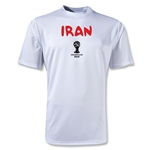Iran 2014 FIFA World Cup Brazil(TM) Men's Core Training T-Shirt (White)