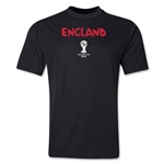 England 2014 FIFA World Cup Brazil(TM) Men's Core Training T-Shirt (Black)
