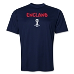 England 2014 FIFA World Cup Brazil(TM) Men's Core Training T-Shirt (Navy)