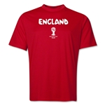 England 2014 FIFA World Cup Brazil(TM) Men's Core Training T-Shirt (Red)