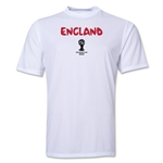 England 2014 FIFA World Cup Brazil(TM) Men's Core Training T-Shirt (White)