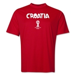 Croatia 2014 FIFA World Cup Brazil(TM) Men's Core Training T-Shirt (Red)