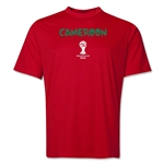 Cameroon 2014 FIFA World Cup Brazil(TM) Men's Core Training T-Shirt (Red)