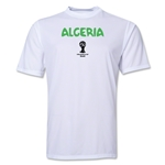 Algeria 2014 FIFA World Cup Brazil(TM) Men's Core Training T-Shirt (White)