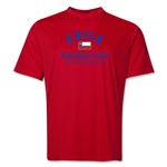 Chile 2014 FIFA World Cup Brazil(TM) Men's Training Camp T-Shirt (Red)