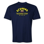 Ecuador 2014 FIFA World Cup Brazil(TM) Men's Training Camp T-Shirt (Navy)