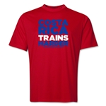 Costa Rica 2014 FIFA World Cup Brazil(TM) Men's Trains Harder T-Shirt (Red)