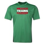 Mexico 2014 FIFA World Cup Brazil(TM) Men's Trains Harder T-Shirt (Green)