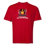 Germany 2014 FIFA World Cup Brazil(TM) Champions Official Look Trophy Training T-Shirt (Red)