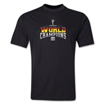 Germany 2014 FIFA World Cup Brazil(TM) World Champions Training T-Shirt (Black)