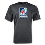 FIFA Interactive World Cup Moisture Wicking Poly Emblem T-Shirt (Black)