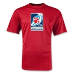 FIFA Interactive World Cup Moisture Wicking Poly Emblem T-Shirt (Red)