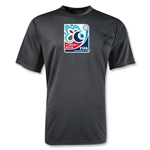 FIFA U-20 World Cup Turkey 2013 Poly Wicking Emblem T-Shirt (Black)