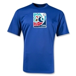 FIFA U-20 World Cup Turkey 2013 Poly Wicking Emblem T-Shirt (Royal)