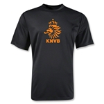 Netherlands Poly T-Shirt (Black)