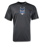 Carolina Railhawks Moisture Wicking Poly T-Shirt (Black)