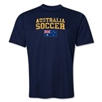 Australia Soccer Training T-Shirt (Navy)