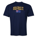Australia Football Training T-Shirt (Navy)