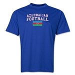 Azerbaijan Football Training T-Shirt (Royal)