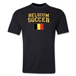 Belgium Soccer Training T-Shirt (Black)