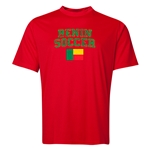 Benin Soccer Training T-Shirt (Red)