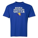 Bosnia-Herzegovina Soccer Training T-Shirt (Royal)