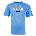 Botswana Soccer Training T-Shirt (Sky)