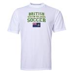 British Virgin Islands Soccer Training T-Shirt (White)