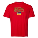 Central African Republic Football Training T-Shirt (Red)
