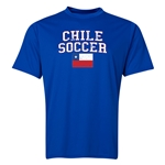 Chile Soccer Training T-Shirt (Royal)