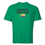 Comoros Soccer Training T-Shirt (Green)