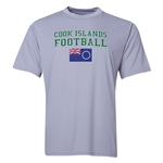 Cook Islands Football Training T-Shirt (Grey)