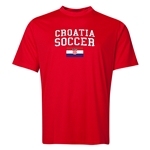 Croatia Soccer Training T-Shirt (Red)