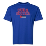 Cuba Soccer Training T-Shirt (Royal)