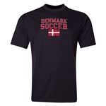 Denmark Soccer Training T-Shirt (Black)